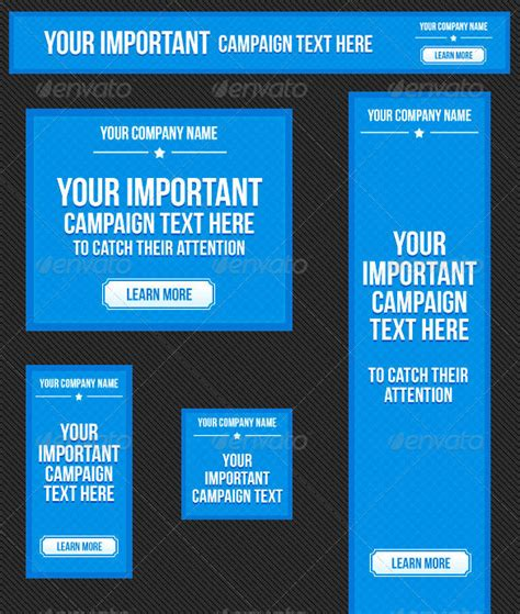 Ad Template Banner Ad Template 50 Free Psd Format Free