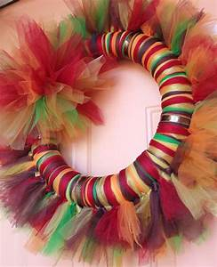 228 best Tulle Wreaths images on Pinterest Holiday