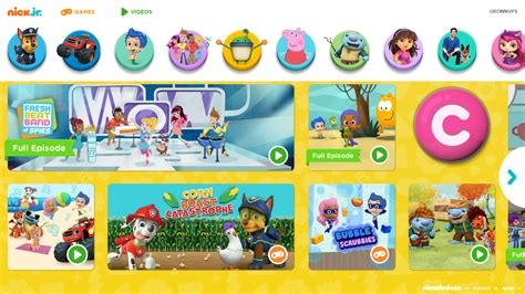 nickalive nickelodeon usa unveils brand new nickjr 499 | nick jr com homepage 2015 refresh rebrand nickelodeon preschool