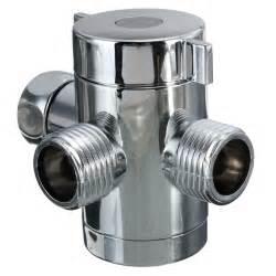 G12 Inch Three Way Tadapter Shower Head Diverter Valve