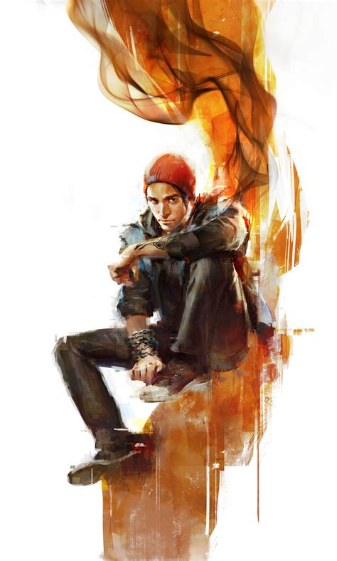 Infamous Second Son Screens Show Anti Hero Fry Soldiers