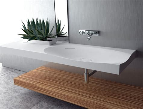 lavabo rectangulaire salle de bain vasque lavabo suspendu consobrico
