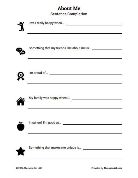 Self Esteem Worksheets For Teens Homeschooldressagecom