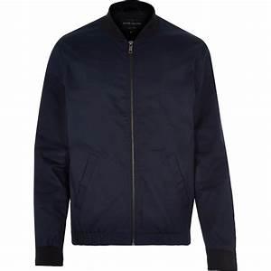 Jacket Navy Blue - Coat Nj