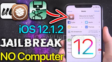 how to jailbreak ios 12 1 2 without a computer unc0ver ios 12 no pc