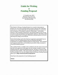 Research Funding Proposal Extended Definition Essay Outline Research