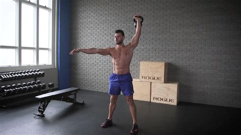 clean press kettlebell