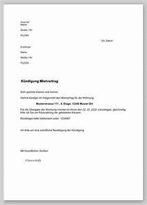 Kündigungsschreiben Wohnung Mieter : k ndigung wohnung vorlage nachmieter fwptc pinterest ~ Lizthompson.info Haus und Dekorationen
