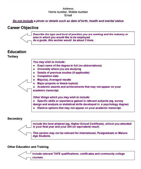 Curriculum Vitae Template Modern by Modern Cv Template Pdf Free Sles Exles Format