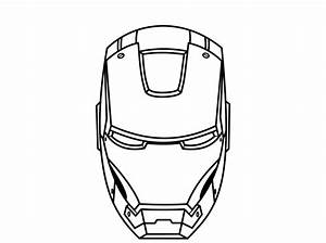 Iron Man Mask Template | sadamatsu-hp