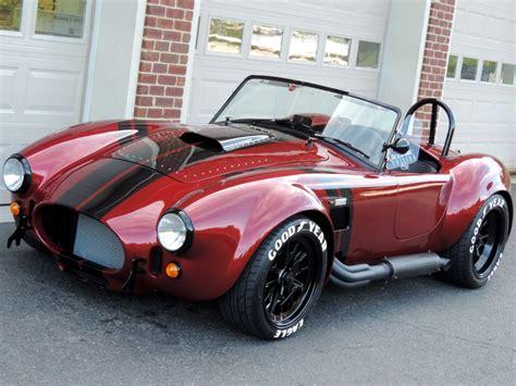 backdraft racing custom cobra rt roadster iconic