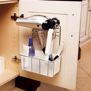 easy to install hair dryer center for under the bathroom With how to hang hair dryer in bathroom