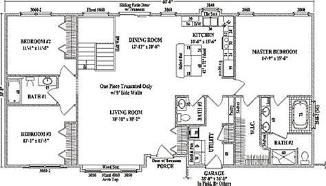 drake  wardcraft homes ranch floorplan
