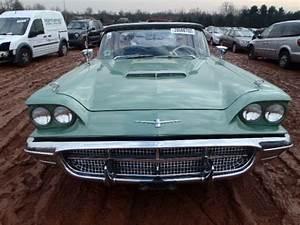 1960 Ford Thunderbird  Cars Flood