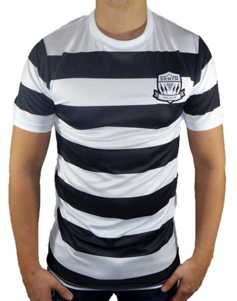 fc drmtm  shirt trikot herren schwarz weiss drmtm