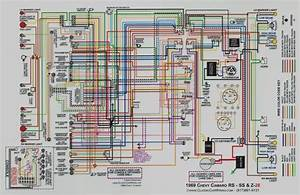 1968 Camaro Wiring Diagram Reprint