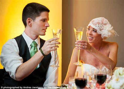 bride  cancer decided  celebrate  wedding