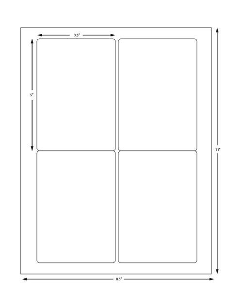avery label sheet 5168 compatible 4 labels per sheet