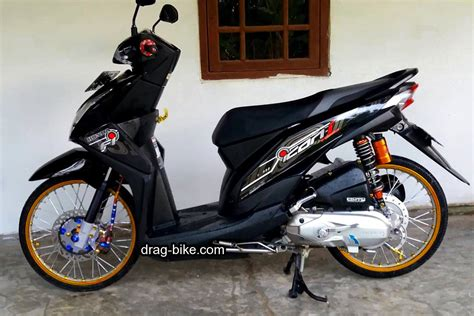 Modifikasi Motor Beat Fi Hitam by Modifikasi Honda Beat Fi Warna Hitam Automotivegarage Org
