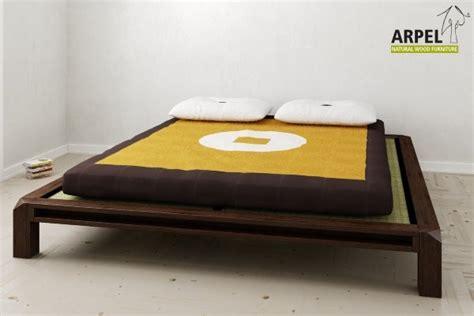 Japanisches Tiefliegendes Bett Aiko Mit Tatami Und Futon