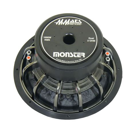 Inch Subwoofers Mmats Pro Car Audio Subwoofer
