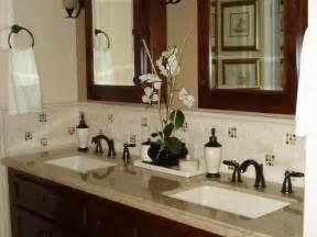 Bathroom Vanity Tile Backsplash Ideas