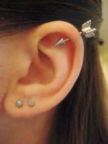 heart cartilage earring 25 awesome helix piercing jewelry inspirations