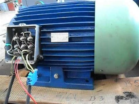 Motor Electric Monofazat 2 2 Kw Second by Sam 3084 Avi