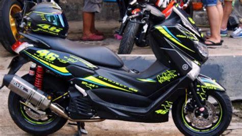N Max Modifikasi by 53 Modifikasi Simpel Yamaha Nmax Modifikasi Yamah Nmax