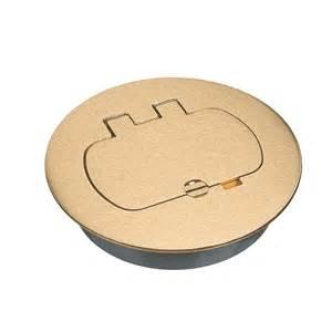 carlon 1 gang round floor box cover e97brr on popscreen