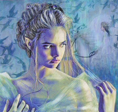 Fairy Queen by Fairy Queen Digital Art By Jane Schnetlage