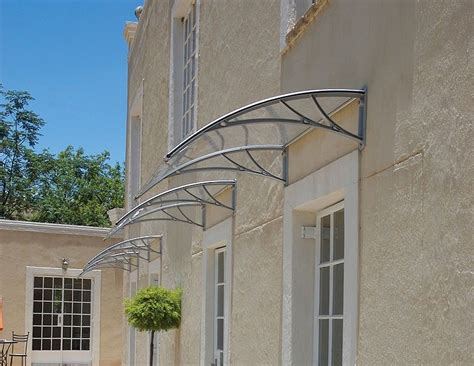 overhead clear window outdoor awning canopy patio cover modern polycarbonate uv rain snow