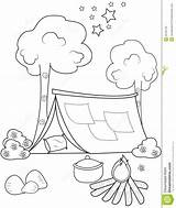 Tent Coloring Pages Circus Children Printable Preview Getcolorings Getdrawings Program Illustration Abstract sketch template