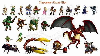Characters Sprite Fantasy Sheets Sprites Pixel Pack