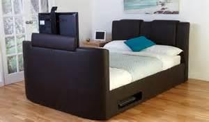8 best tv beds with built in tvs qosy