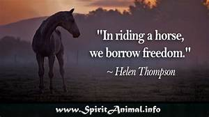 Horse Quotes - ... Free Horses Quotes