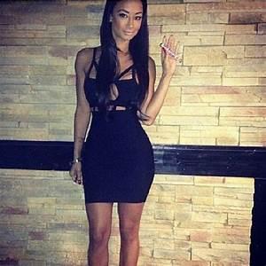 #black #tight #dress #short | Partayyyy | Pinterest