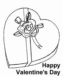 Heart For Valentines Day - Coloring Home