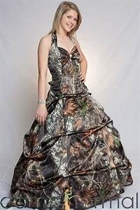 the ten most awesome camo formal wedding dresses for a With mossy oak wedding dress