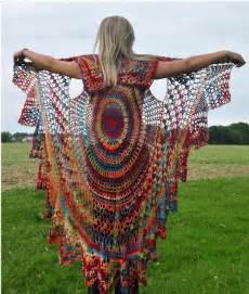 Boho Bohemian Crochet Vest pattern by Donna Cousin