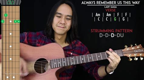 Always Remember Us This Way Guitar Cover Acoustic