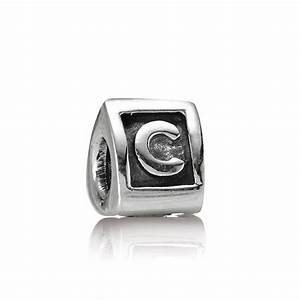 pandora letter c alphabet charm pandora from gift and With pandora letter c