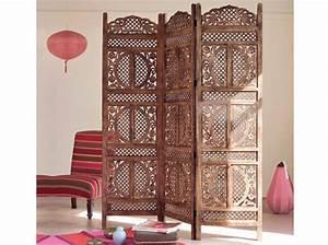 Des paravents pour tous les styles elle decoration for Paravents maison du monde