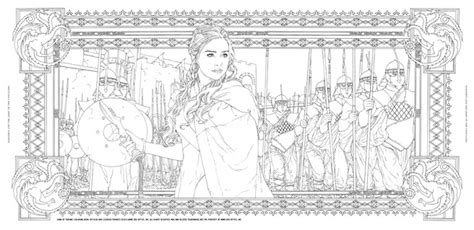 disegni da colorare riverdale of thrones second livre de coloriage officiel en