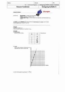 Steigung Lineare Funktion Berechnen : ab loesungen ~ Themetempest.com Abrechnung