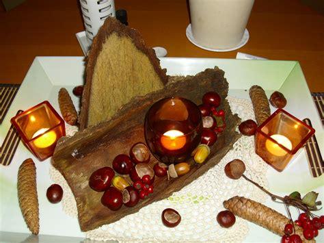 Herbstliche Tischdeko Selbermachen by Herbst Tischdeko Aus Naturmaterialien Selber Machen Frag