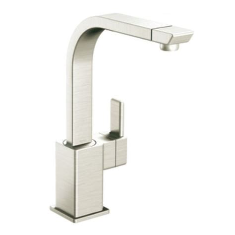 moen one touch kitchen faucet moen kitchen faucets