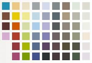 nuancier peinture accroche tout idestyl 52 couleurs With beautiful peinture mur exterieur couleur 16 palette couleurs beton cire castorama