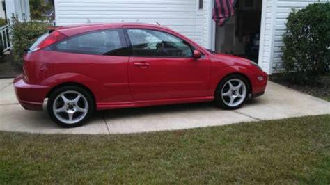 buy   ford focus svt hatchback  door   irmo