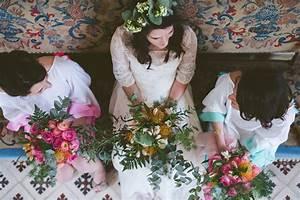 Couronne De Fleurs Mariée : couronne de fleurs les d corations de mariage d 39 elisabeth delsol ~ Farleysfitness.com Idées de Décoration